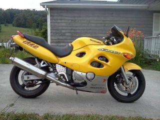 2002 Suzuki Gsx600f Katana 600 Sport Bike photo