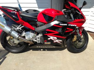2002 Honda Cbr 954rr Red / Black,  Close To,  Lots Of Extras,  Fast. photo