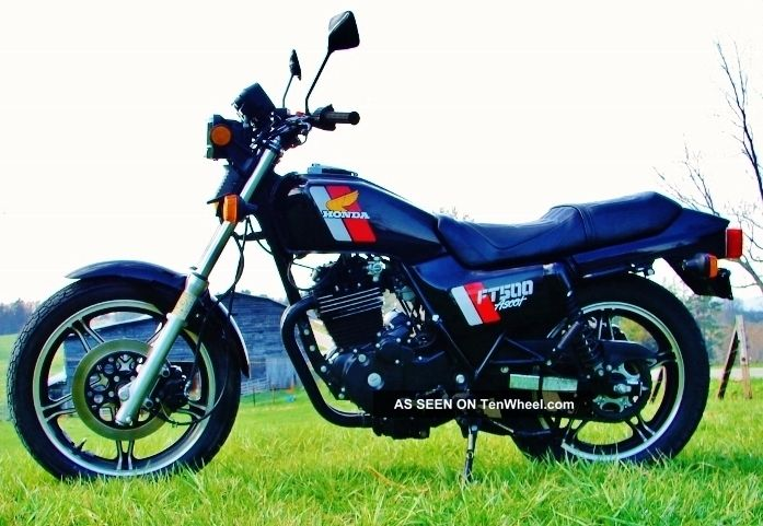 1983 Honda Ft500 Ascot - Stunning 3,  2k Mi.  Museum Quality - Tires Other photo