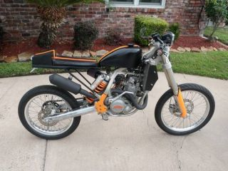 2005 Ktm 525sx Cafe Racer - Street Legal photo