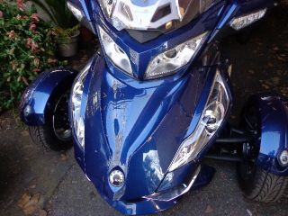 Can Am Canam Spyder Blue Rt - S 2011 Three Wheel Tour Sm5 photo
