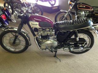 1967 Triumph 650 Bonnieville photo