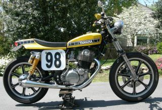 1981 Yamaha Sr500 Street Tracker photo