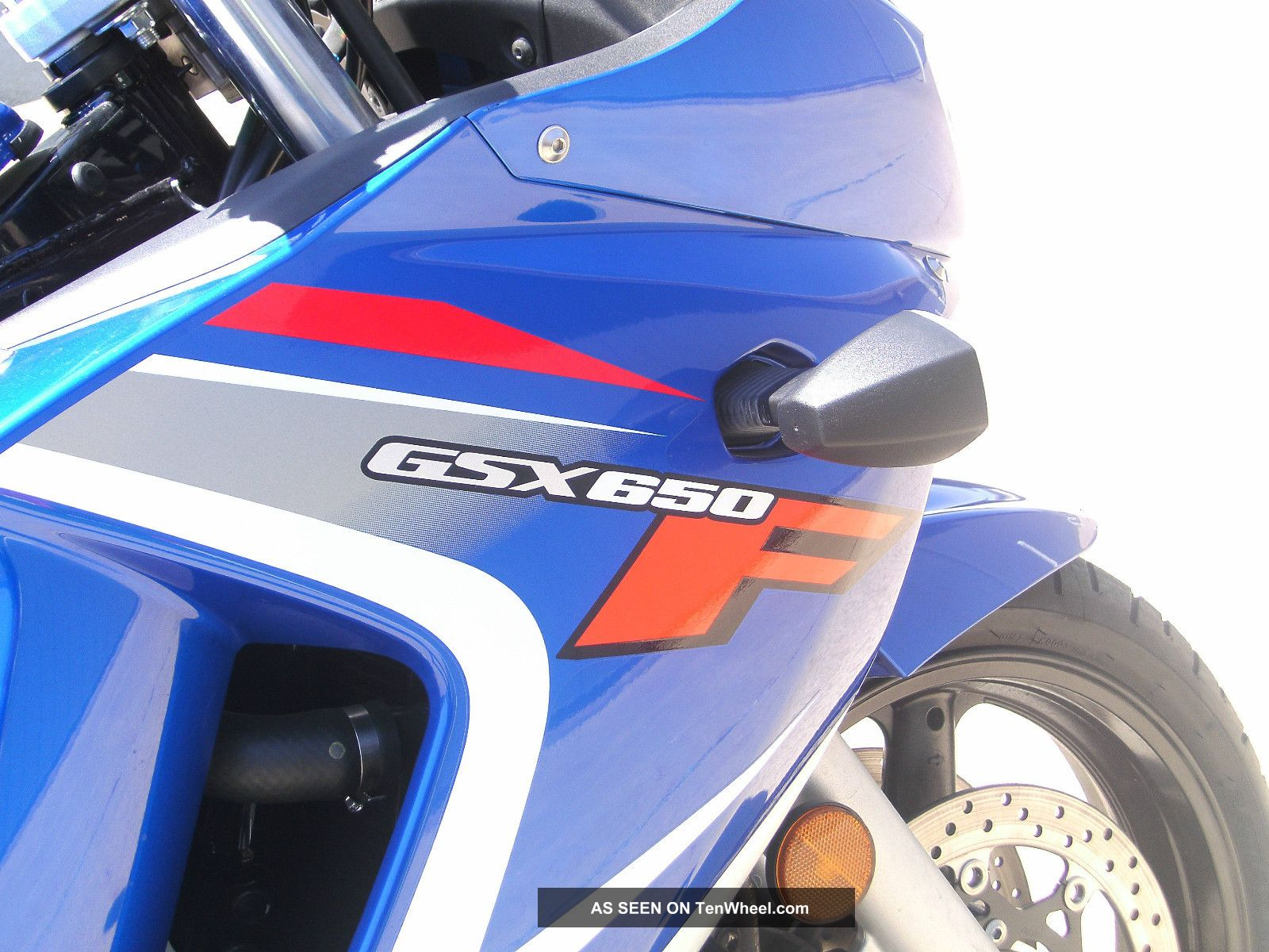 2008 Suzuki Gsx650f,  Blue GSX / Katana photo