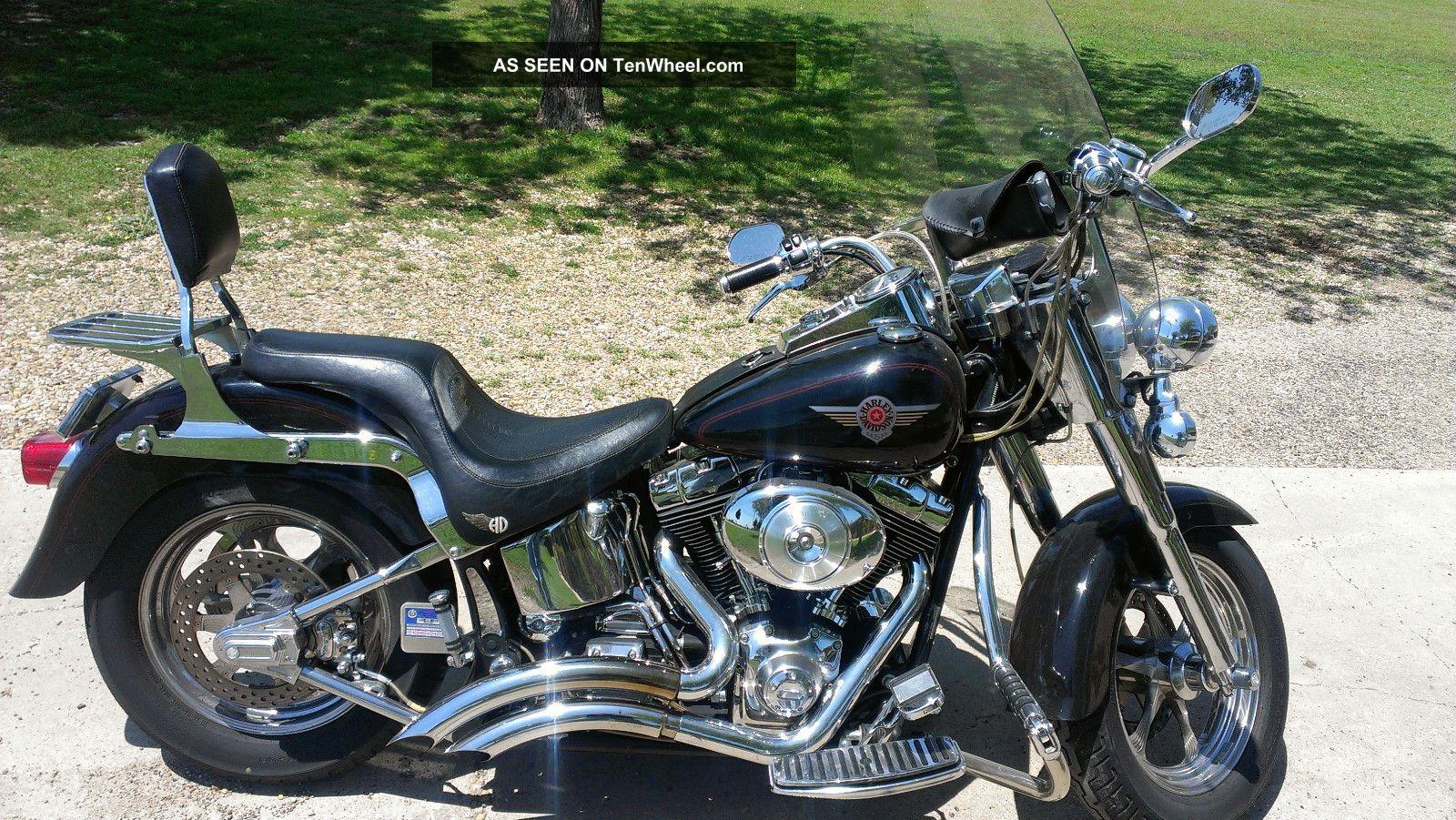2000 Harley Davidson Fatboy Flstf Softail photo