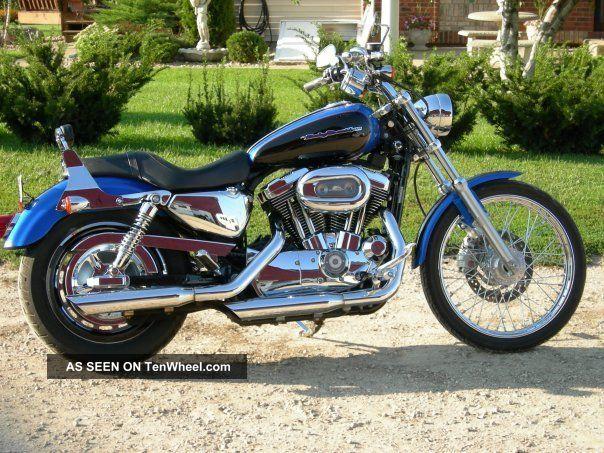 2004 Harley - Davidson Sportster Custom Xl1200c Sportster photo