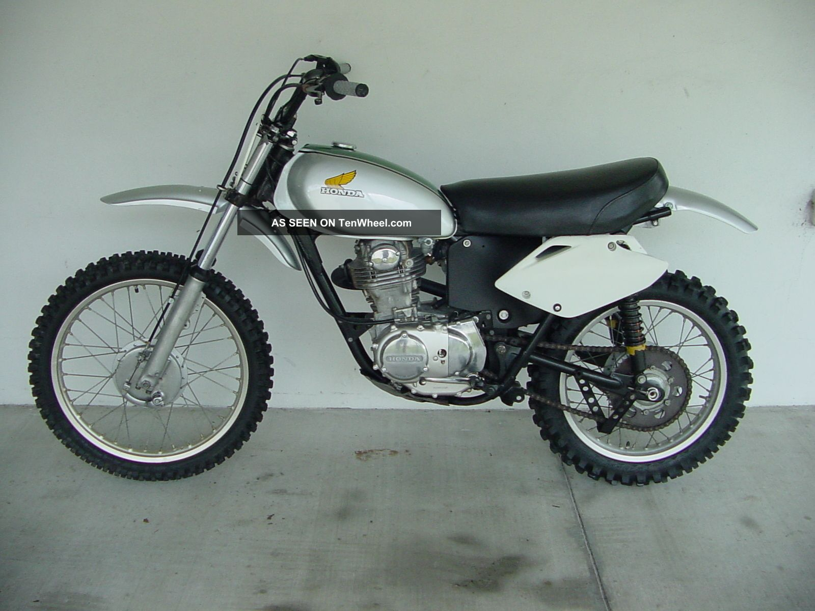 Vintage honda dirt bike