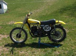 1973 Suzuki Tm 400 Vintage Ahrma Motocross photo