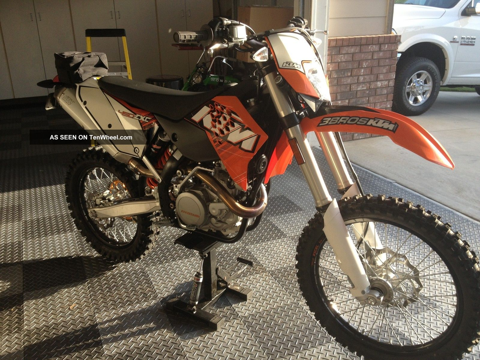 2011 Ktm 450 Exc Enduro Bike,  Never Seen Dirt,  Street Legal EXC photo
