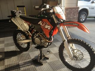 2011 Ktm 450 Exc Enduro Bike,  Never Seen Dirt,  Street Legal photo