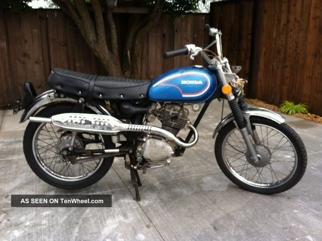 1973 Honda Cl 100. CL photo