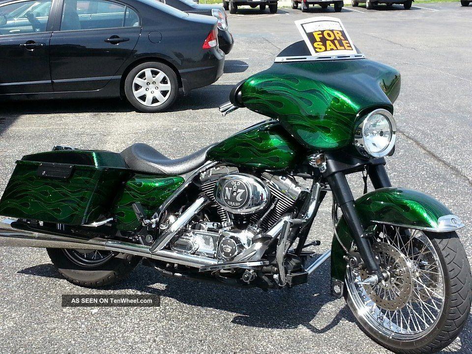 1999 Custom Harley Bagger Flhtcui