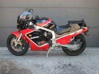 1987 Suzuki Gsxr 1100 2 Owner Motorcycle photo