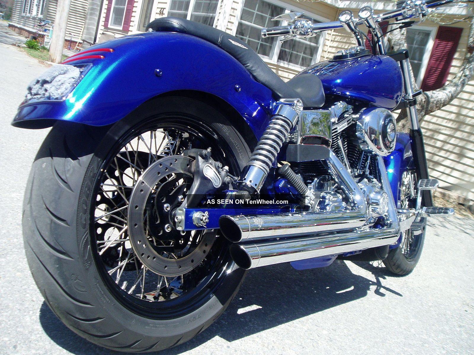 2002 Harley Davidson Fxd Custom Show Bike Dyna photo