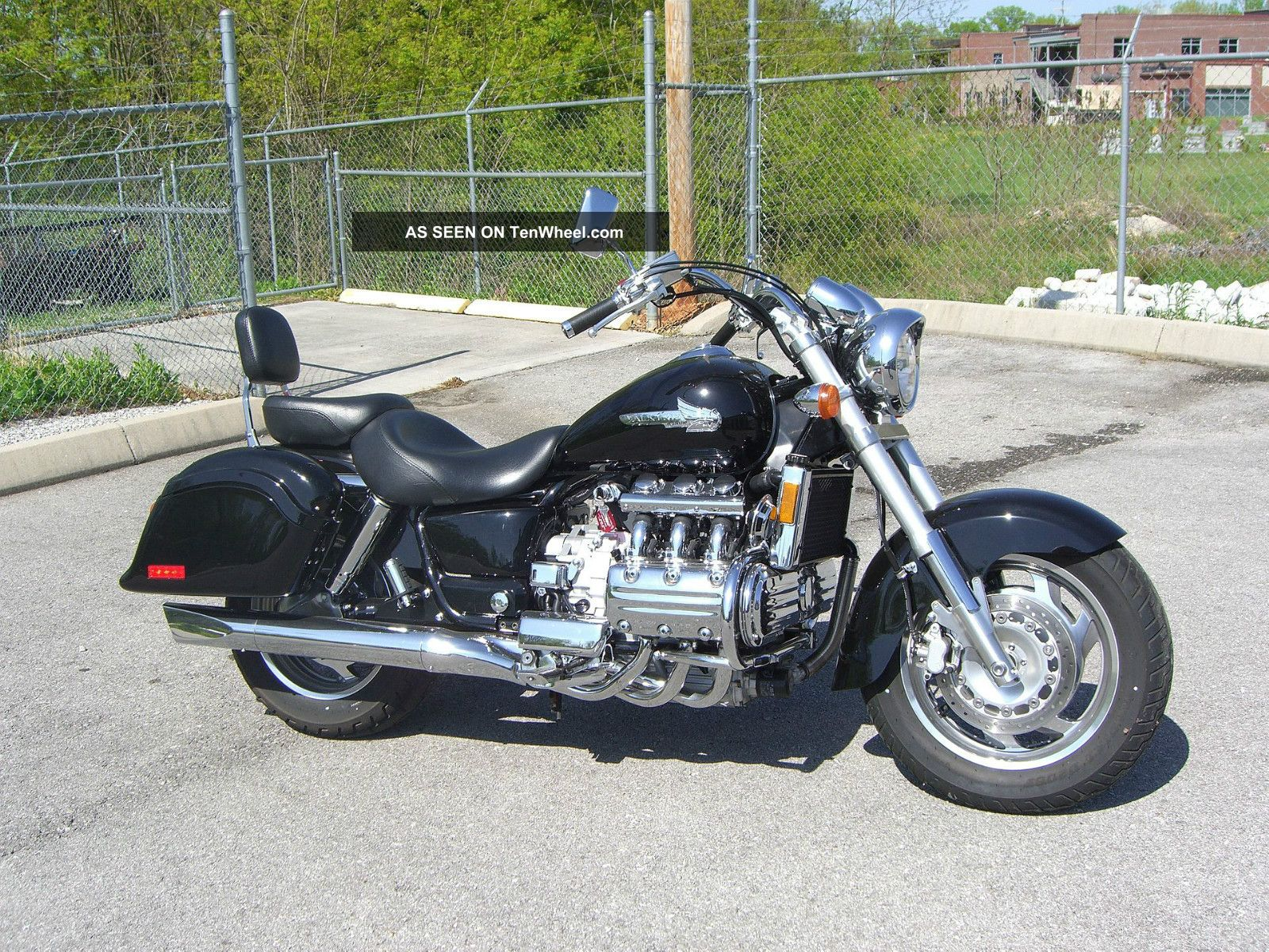 2003 Black Honda Valkyrie Last Year For This Model Valkyrie photo