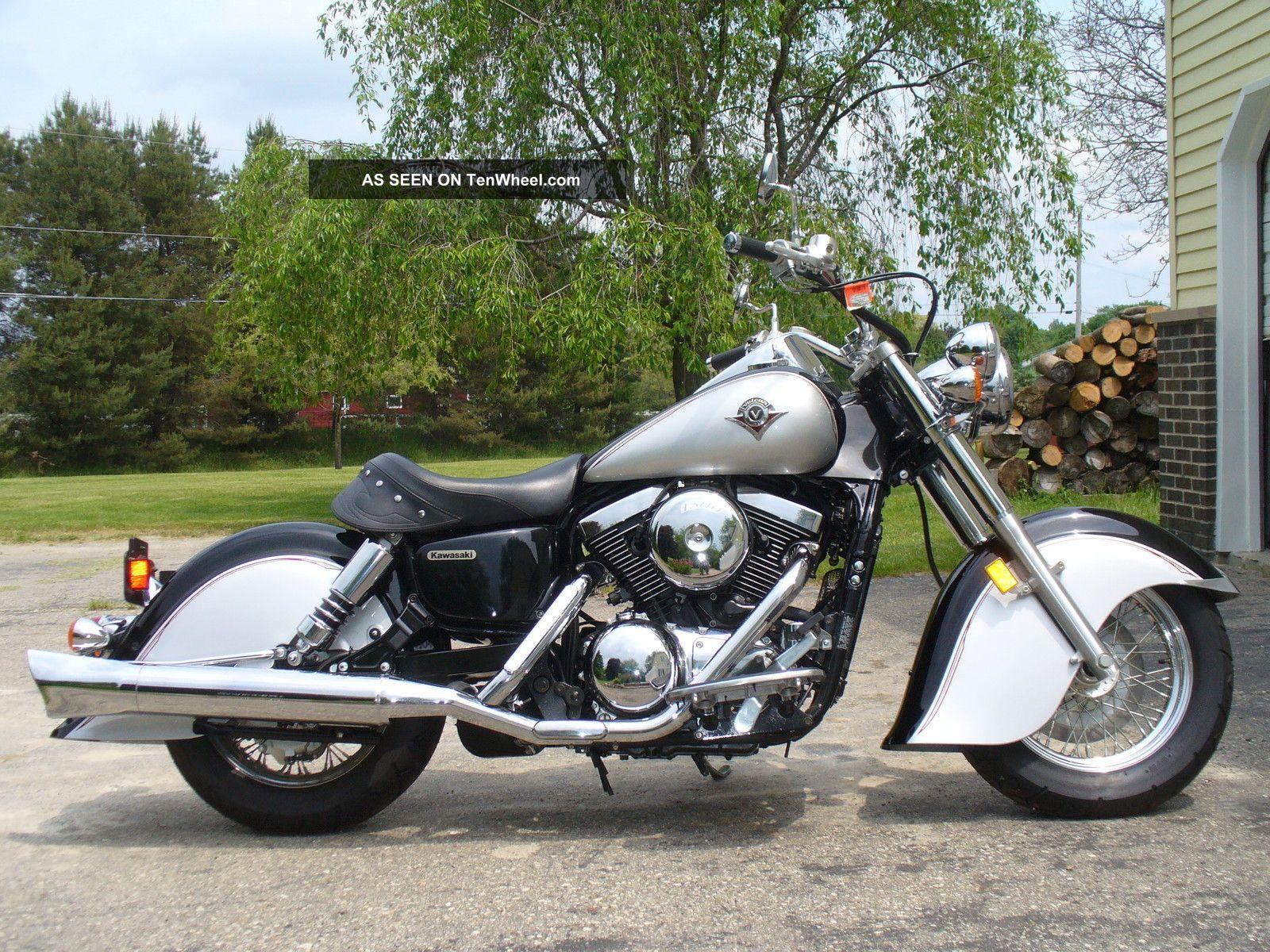 2005 Kawasaki Vulcan 1500 Drifter Motorcycle Like Indian Chief Vintage