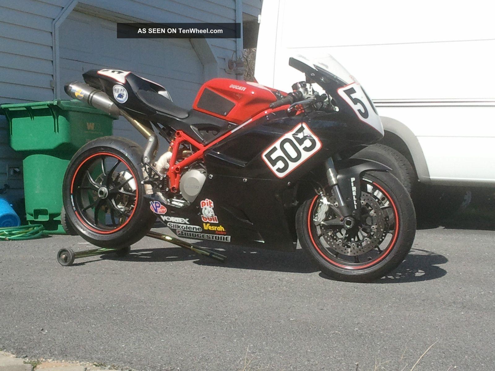 2008 Ducati 848 Race Bike
