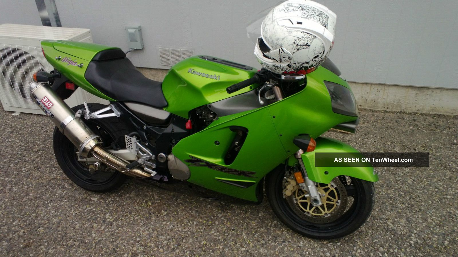 2000 Kawasaki Ninja Zx12r The Last Unrestricted Unlimited Bike Ninja photo