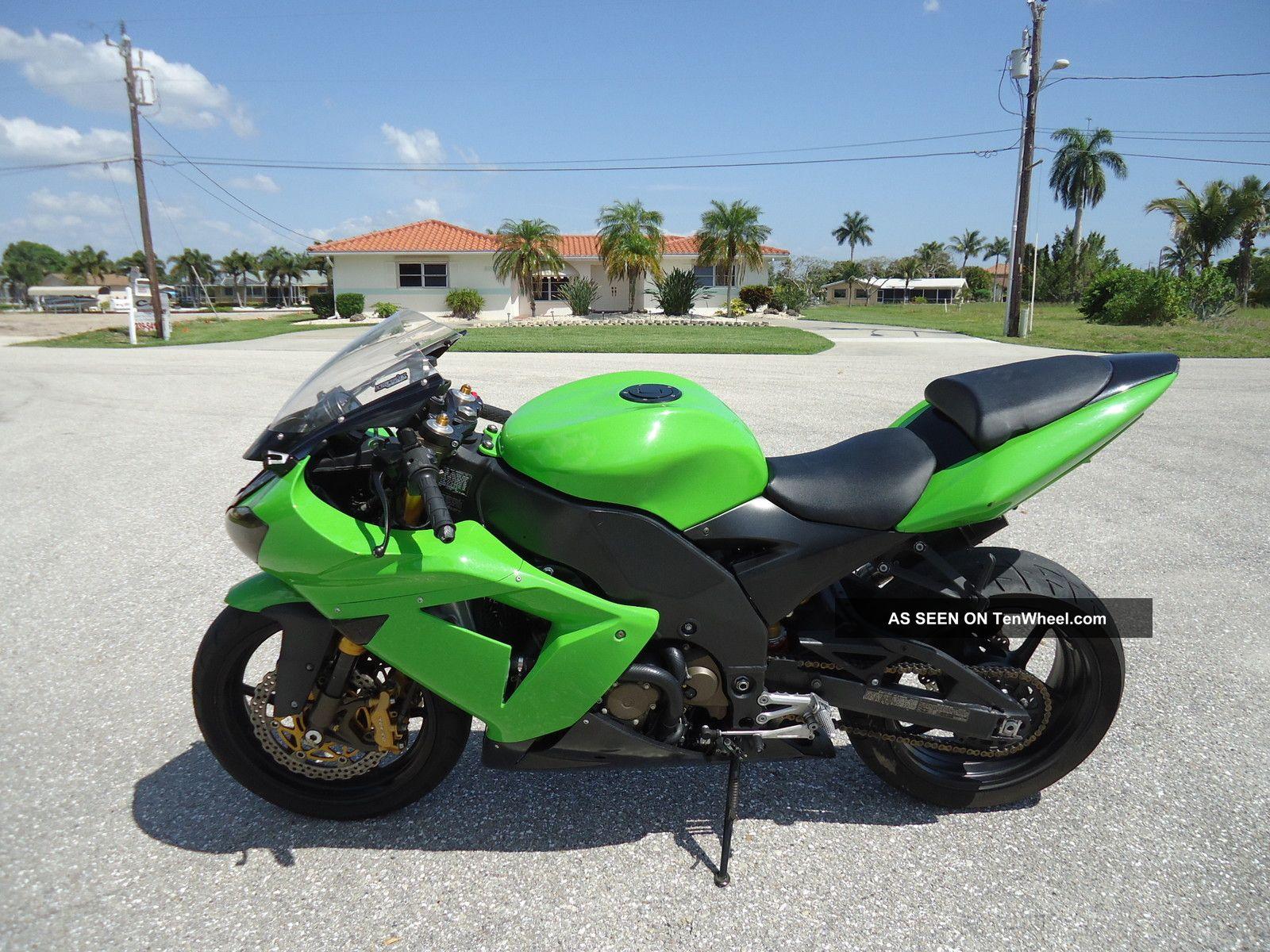 2004 Kawasaki Zx10 Zx 10 Ninja