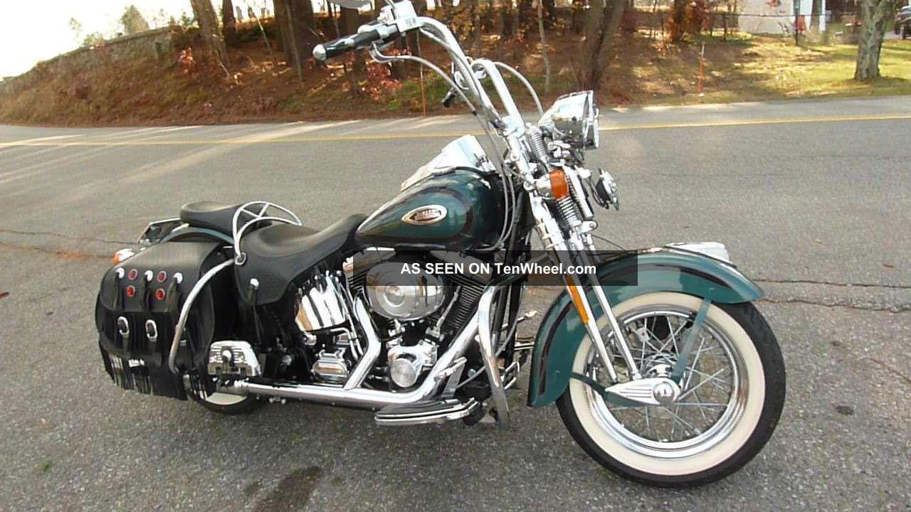 2000 Harley Heritage Springer Flsts Softail photo
