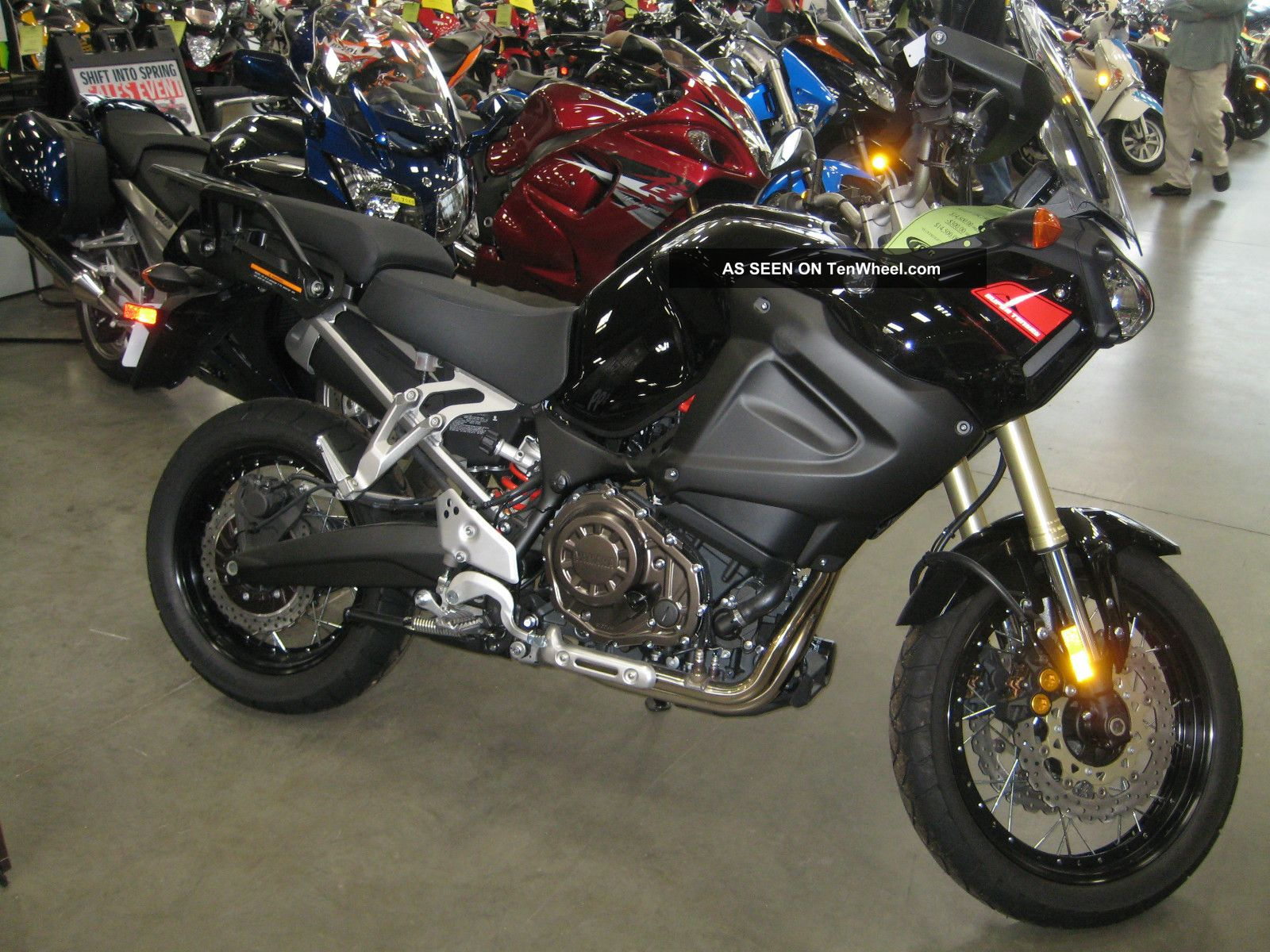 2012 Yamaha Tenere Adventure Motorcycle Dual Purpose Bike Cruiser Xtz Other photo