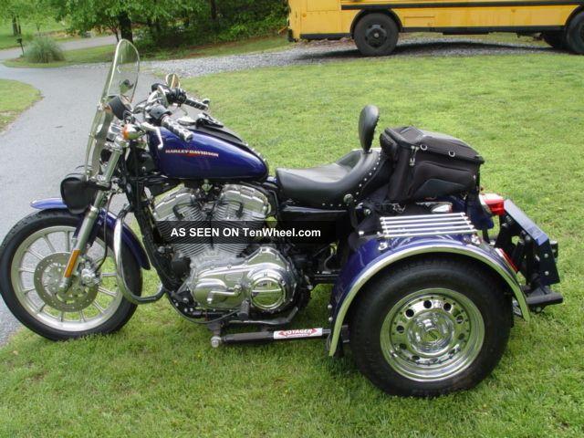 Loaded 2006 Custom Harley Sportster Voyager Trike Prestine Cond Sportster photo