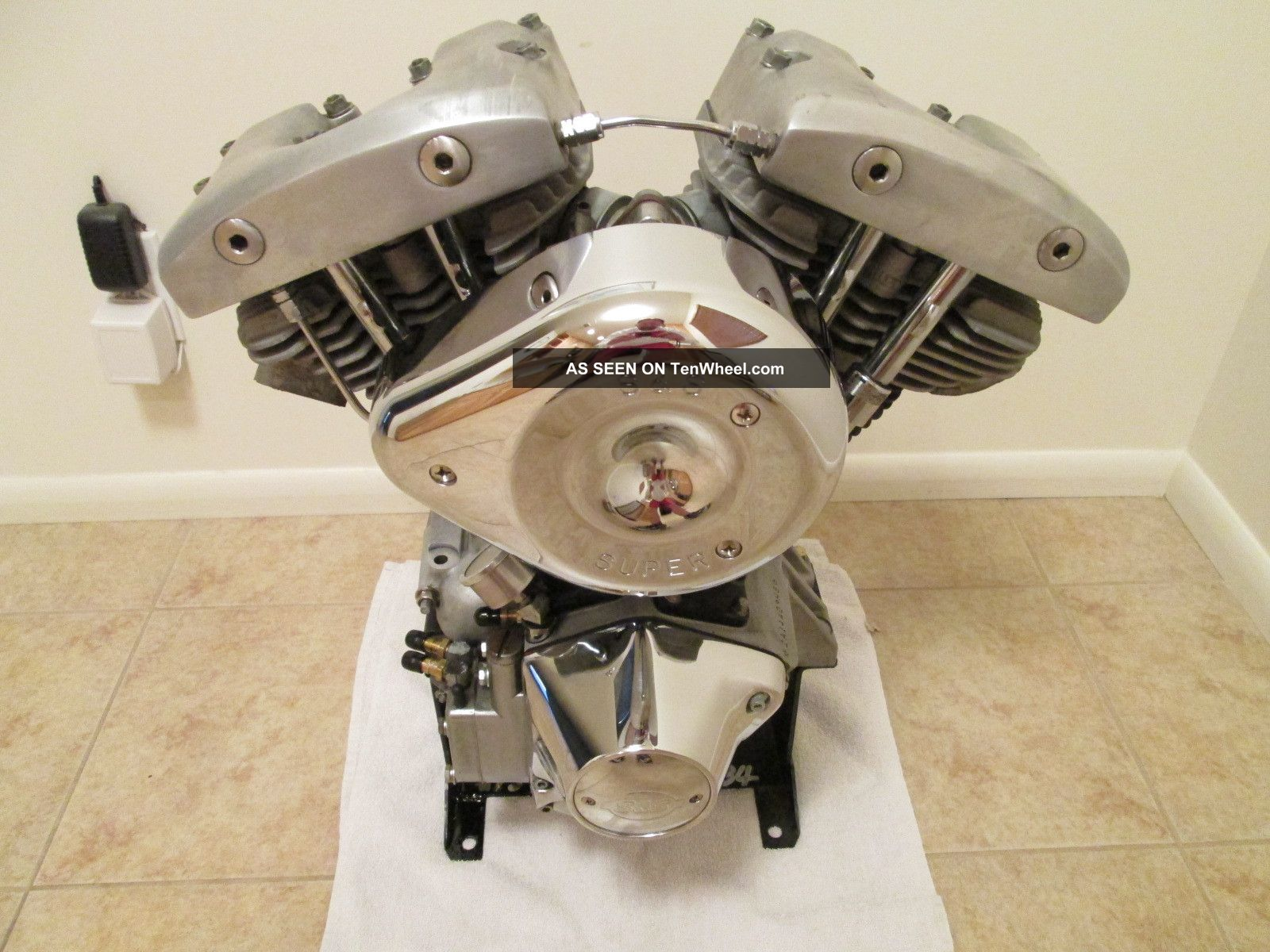 Fresh 1976 Harley Titled Shovelhead Motor Engine - Like Panhead And Knucklehead Other photo