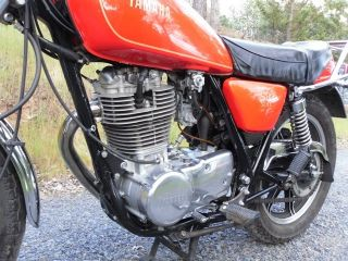 Yamaha Sr500 Motorcycle Sr 500 1979 photo