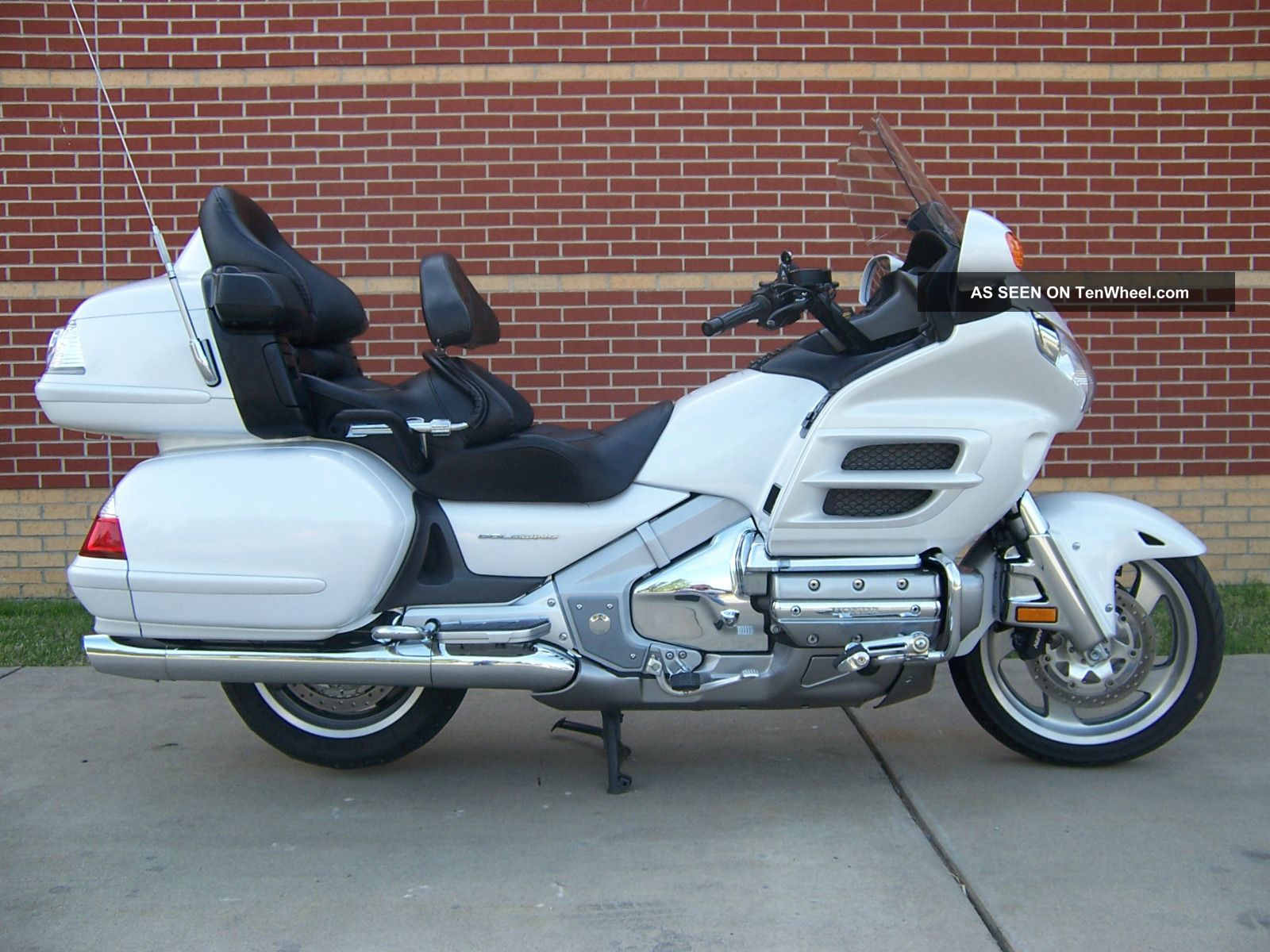 2008 Honda 1800 (hpnm) Goldwing In Pristine Condition Gold Wing photo