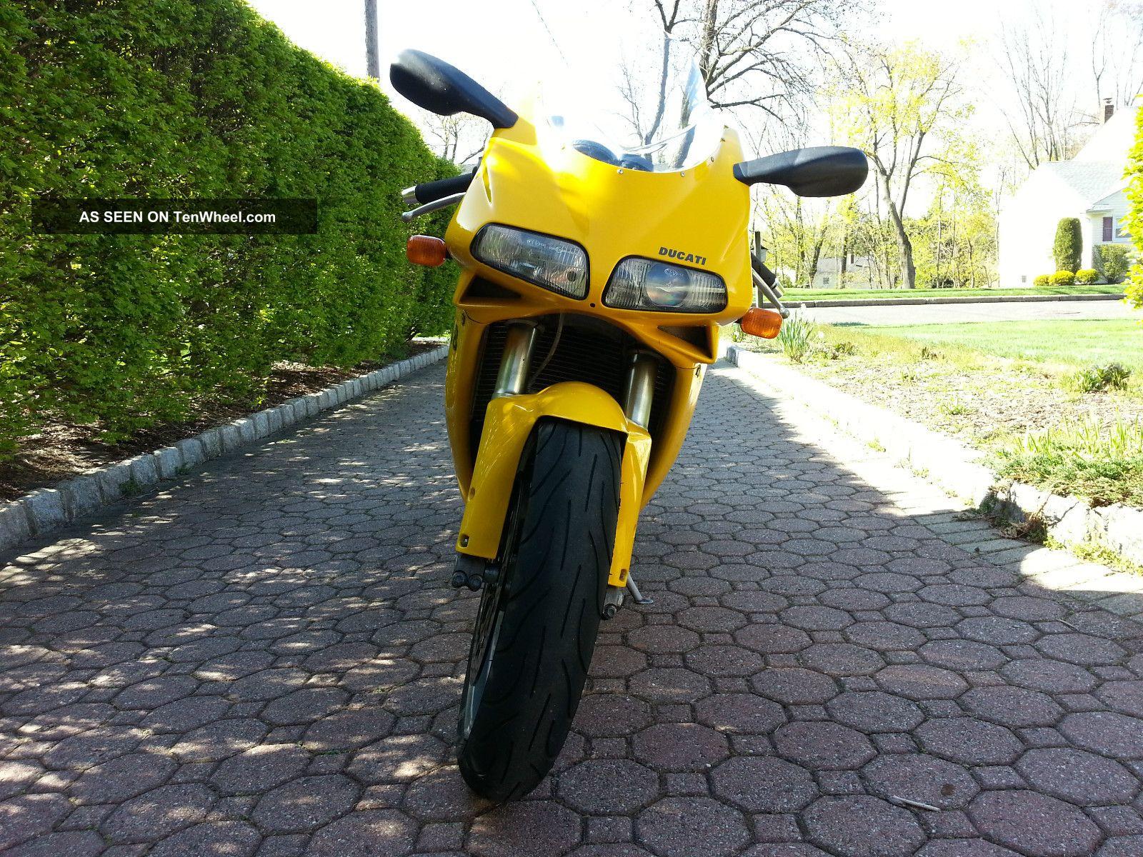 Ducati 748s 2000 Yellow Superbike Superbike photo