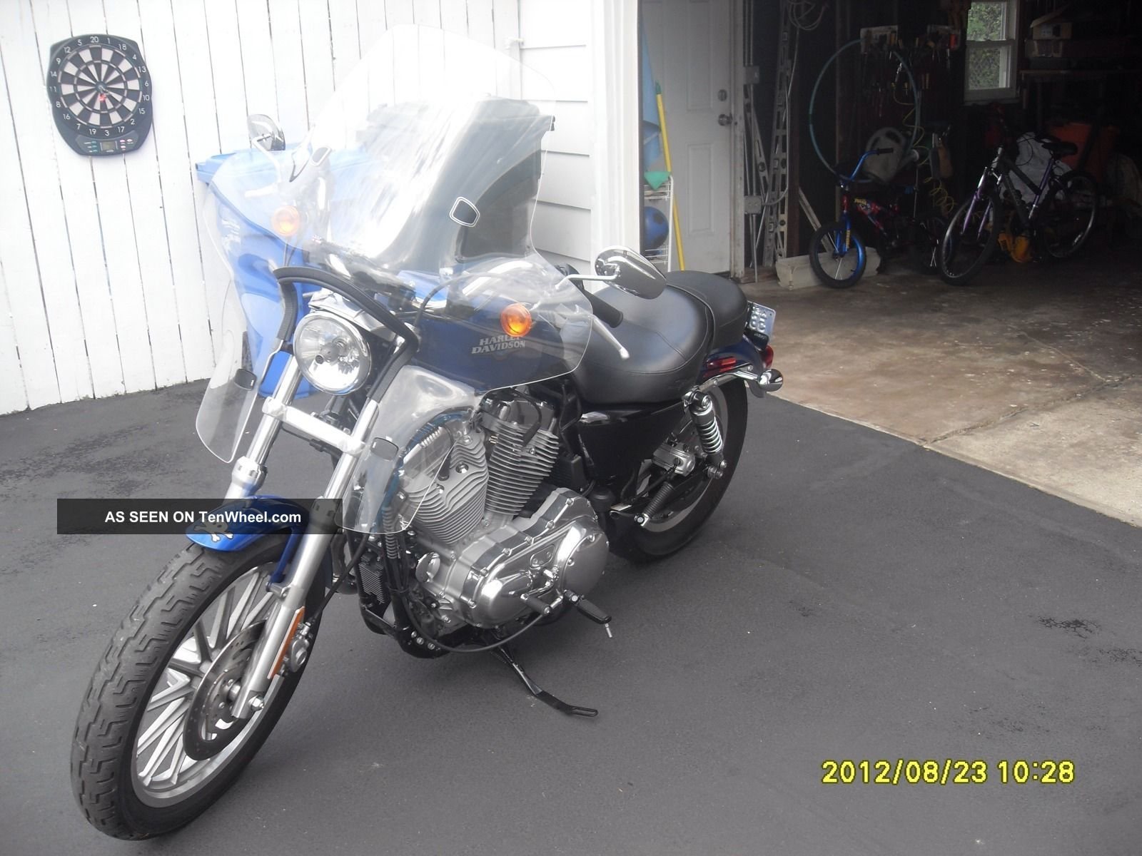2010 Harley Davidson Sportster 883 Low Sportster photo