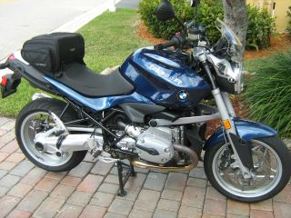 2010 Bmw R1200r Blue photo