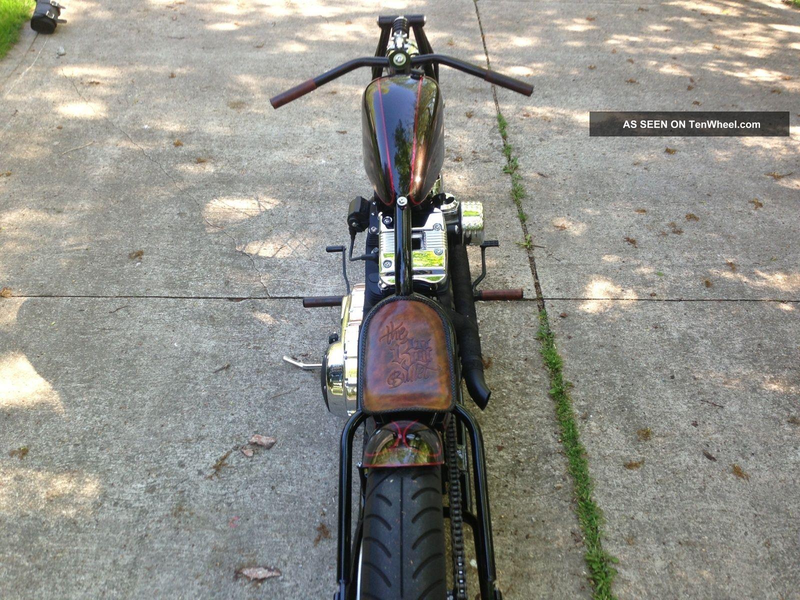 Custom Bobber: 2012 Daytona Winner Board Track / Salt Flat Harley ...