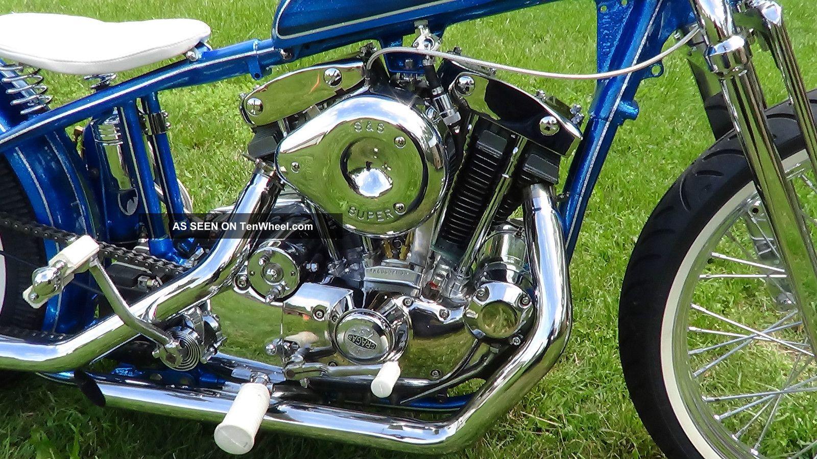 1973 Harley Ironhead Sportster Bobber