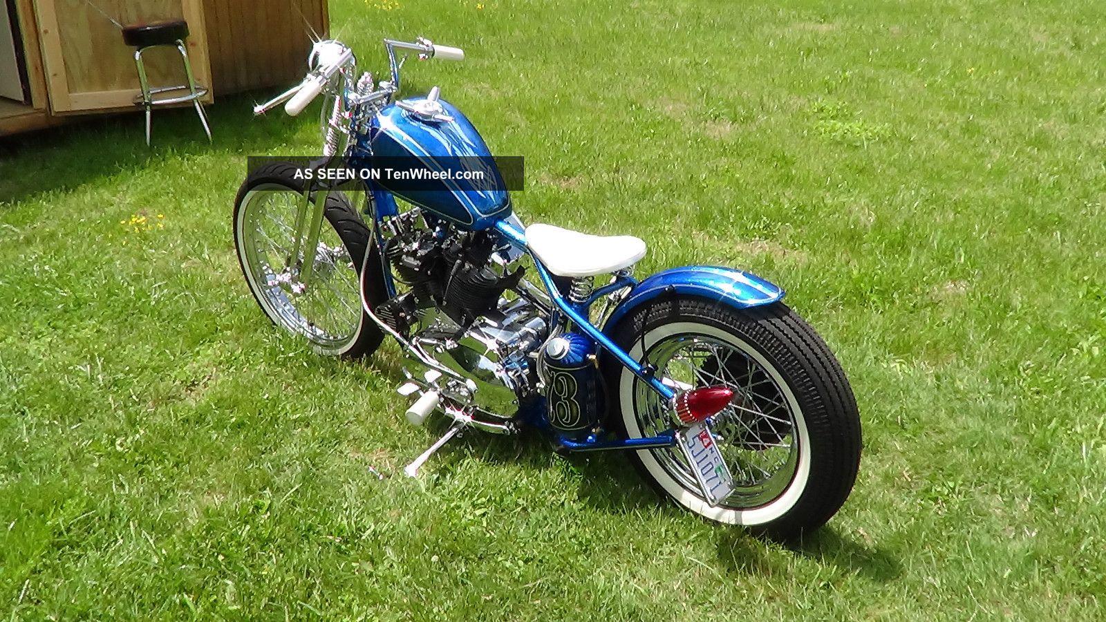 1973 Harley Davidson Ironhead Sportster Bobber Chopper