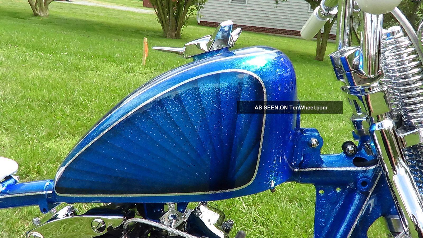 1973 Harley Davidson Ironhead Sportster Bobber Chopper Metalflake