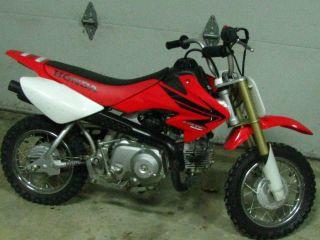 2007 Honda Crf® 50f Dirt Bike photo