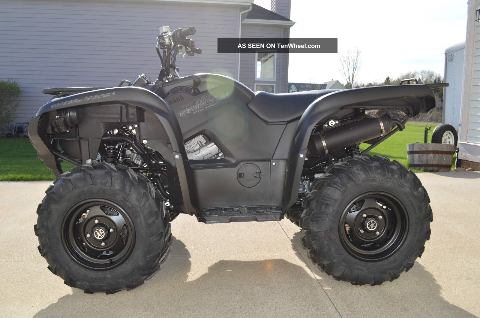 2013 yamaha grizzly 700 eps se for Yamaha grizzly 800