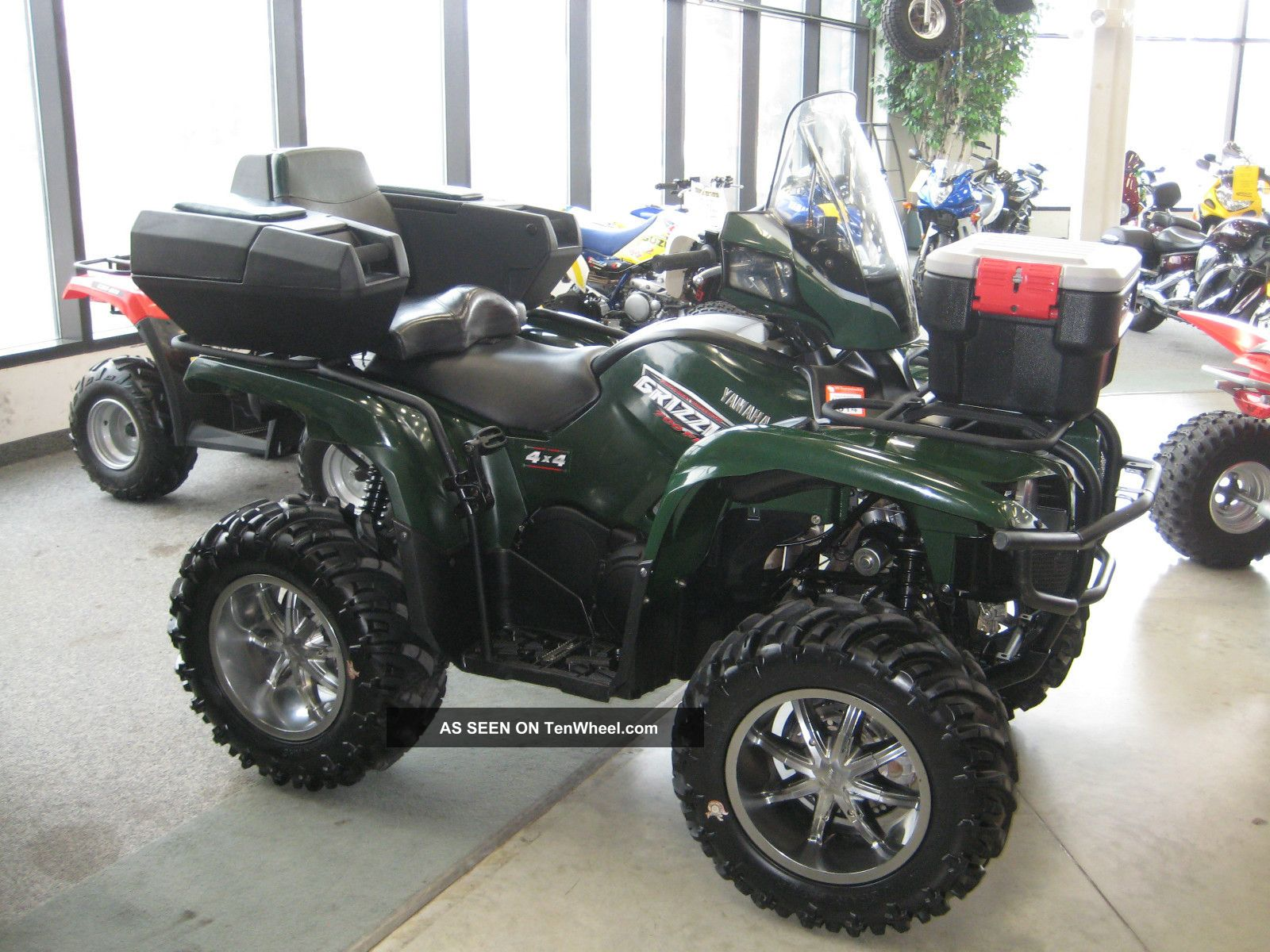 2009 yamaha yfm 700 fi electric power steering grizzly. Black Bedroom Furniture Sets. Home Design Ideas