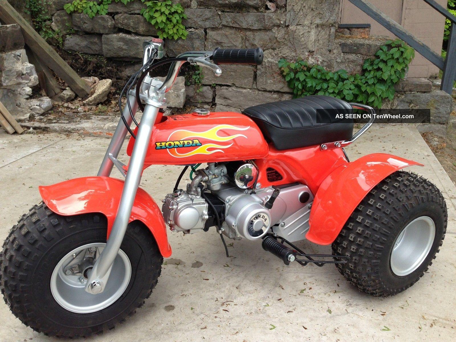 Honda Atc 70 : Honda atc