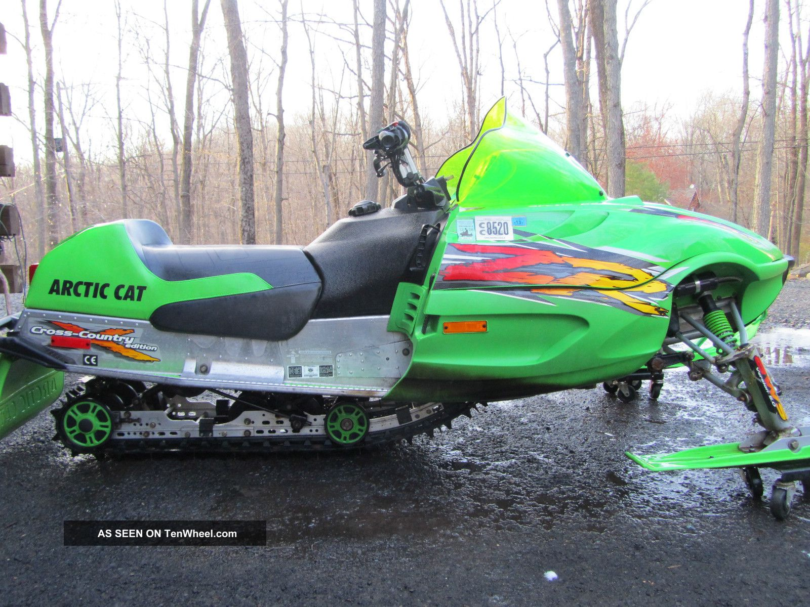 2002 Arctic Cat Zr600 Xc Arctic Cat photo