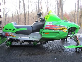 2002 Arctic Cat Zr600 Xc photo