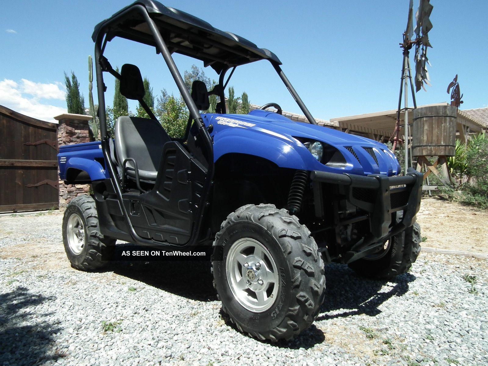 Yamaha Grizzly 660 >> 2007 Yamaha Rhino