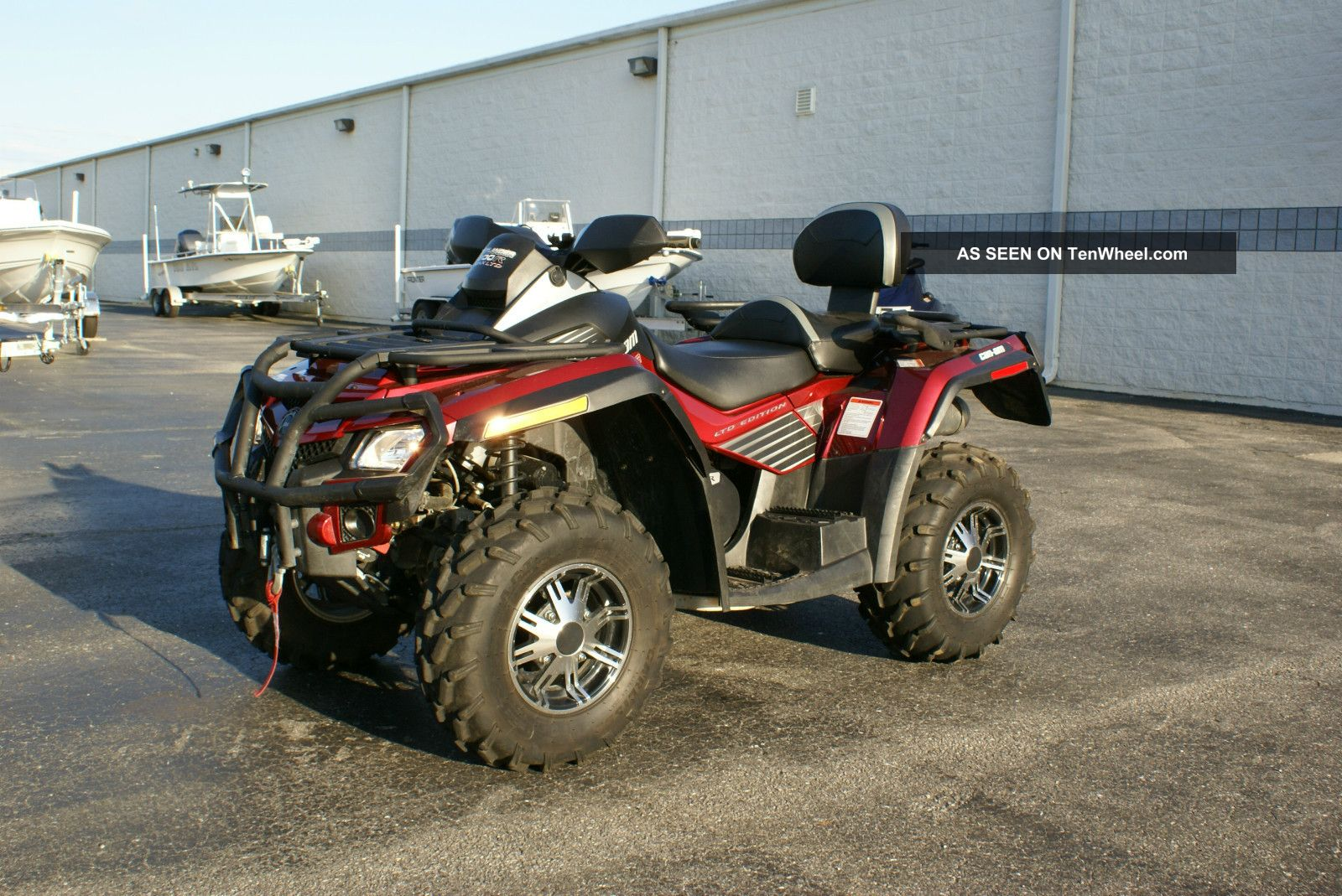 2005 bombardier oulander 400 ho efi xt max atv for sale for Paquin motors used cars