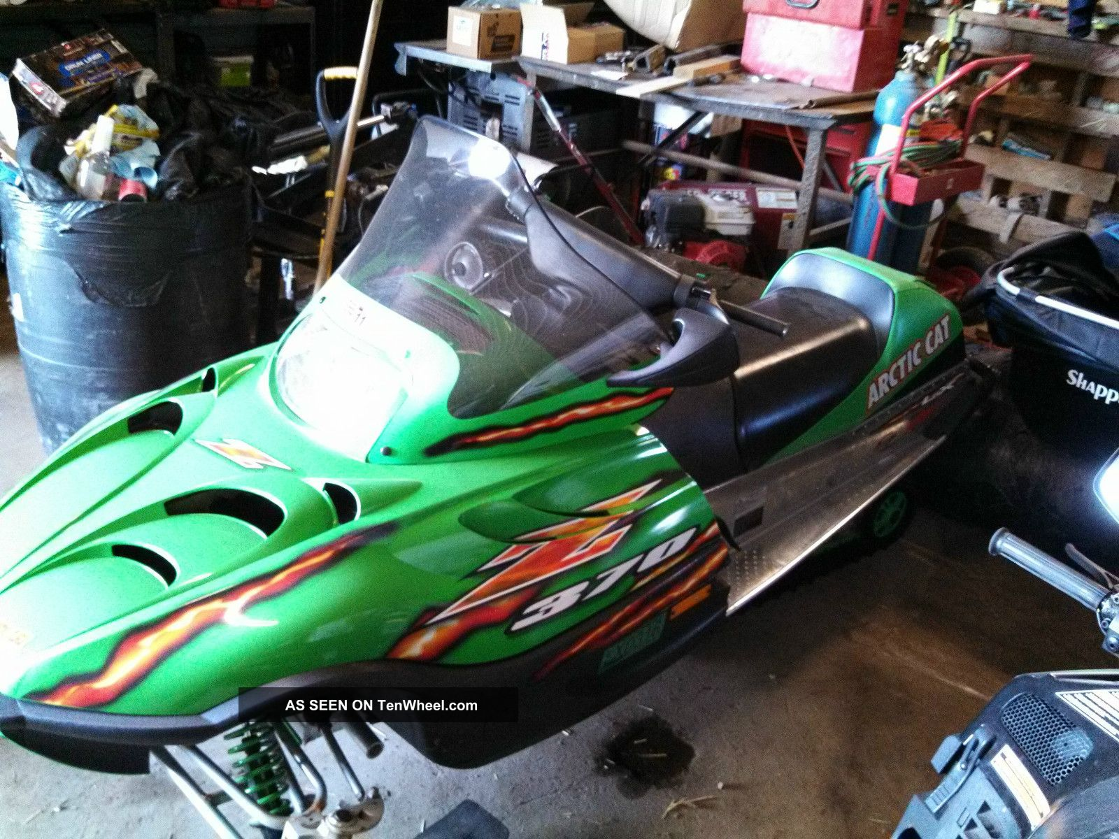 2006 Arctic Cat Z - 370 Arctic Cat photo