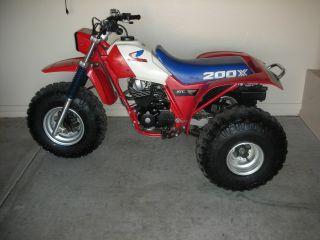 1985 Honda 200x photo