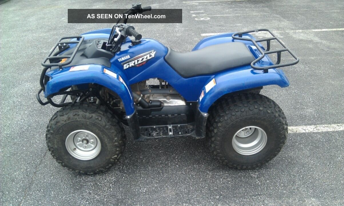 2008 Yamaha Grizzly 125