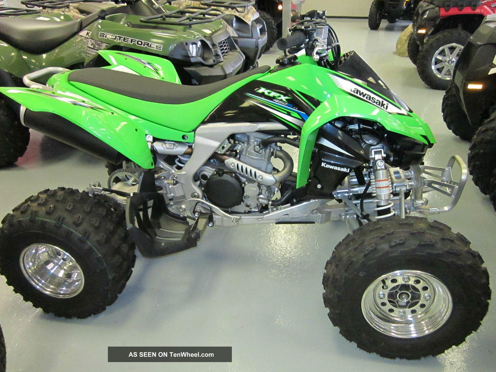 2012 Kawasaki Kfx 450r