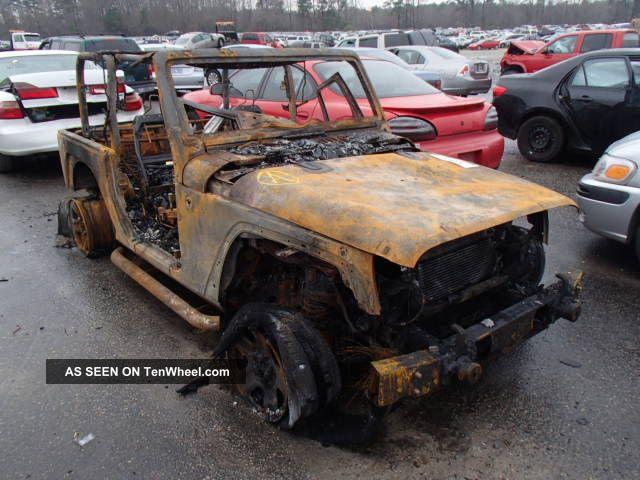 2012 Jeep Wrangler Burnt Wrangler photo