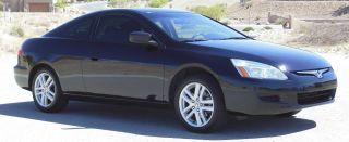 2005 Honda Accord Ex Coupe 2 - Door V6,  Manual,  Black,  Black,  No photo